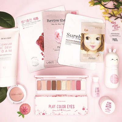 sooni pouch -Korean Beauty Subscription Box