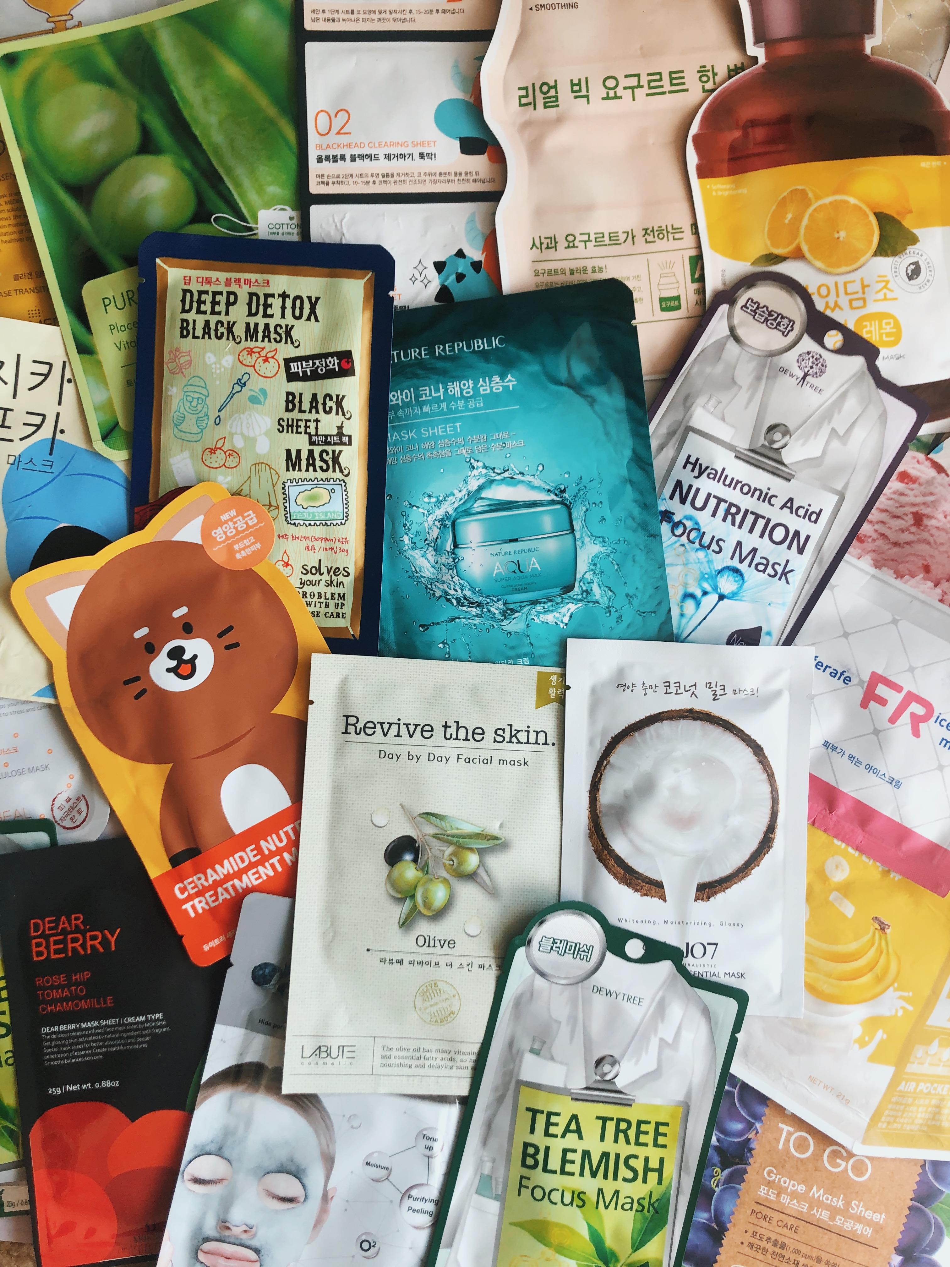 The best K-beauty face masks: Sooni Mask Pouch