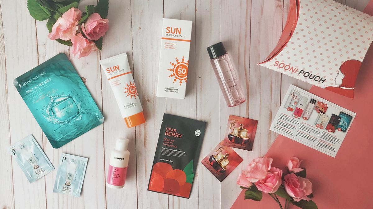 February Sooni Mini Pouch - K-beauty Subscription Box