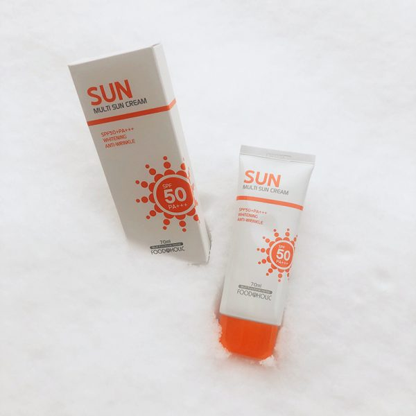 Foodaholic Multi Sun Cream