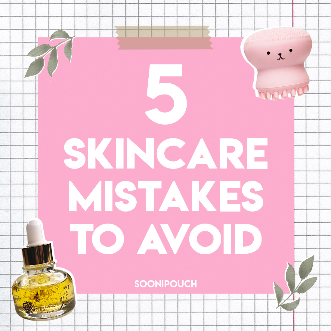 5 Skin Care Mistakes to Avoid