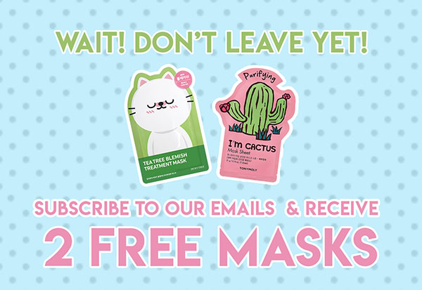 2 Free Masks!